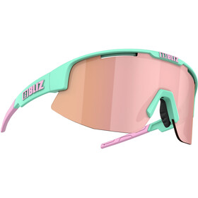 Bliz Matrix M12 Brille matt mint /brown with rose multi